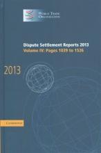Wto, World Trade Organization Dispute Settlement Reports 2013