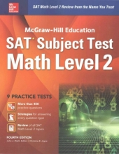 Diehl, John J. McGraw-Hill Education SAT Subject Test Math Level 2 4th Ed.