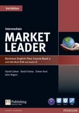 Cotton, David,   Falvey, David,   Kent, Simon,   Rogers, John Market Leader Intermediate Flexi Course Book 2 Pack