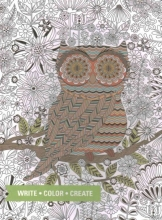 Owl Coloring Journal