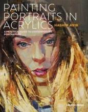 Hashim Akib Painting Portraits in Acrylics