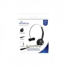 , Headset MediaRange HP-116 H520 mono zwart