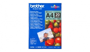 , Inkjetpapier Brother Bp-71 A4 glans 260gr 20vel