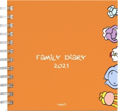 , Familieagenda 2021 vis vierkant 16x16