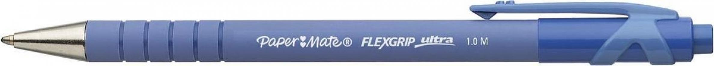 , Balpen Paper Mate Flexgrip Ultra blauw medium