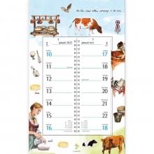 , Omlegkalender 2022 rien poortvliet boerderij kaasproductie 21x34