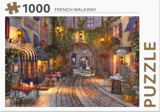 , French Walkway - puzzel 1000 st