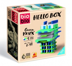 Blo-640316 , Bioblo - hello box ocean mix - 100 - 5 colours