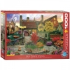 <b>Eur-6000-5531</b>,Old town living dominic davison puzzel eurographics 1000 stukjes