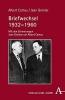 Camus, Albert, Briefwechsel 1932-1960