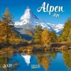 Alpen 2021, Broschürenkalender mit Ferienterminen
