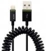 ,<b>Oplaadkabel Leitz Complete Lightning-USB 100cm zwart</b>