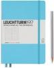 <b>Lt357480</b>,Leuchtturm notitieboek medium 145x210 lijn ijsblauw
