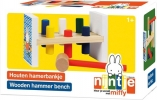 Bat-33411 , Nijntje houten hamerbank - bambolino toys