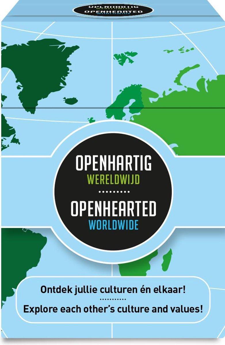 Opu-1121,Openhartig wereldwijd - openhearted worldwide