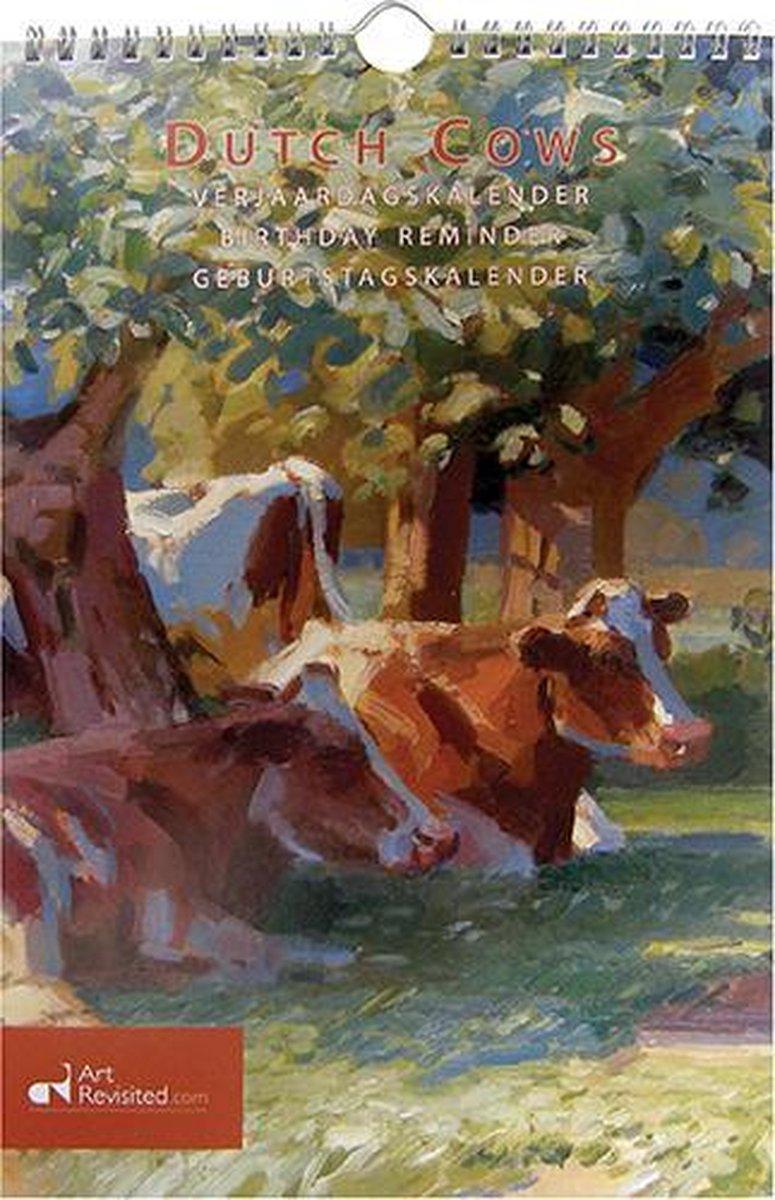 ,Verjaardagskalender dutch cows