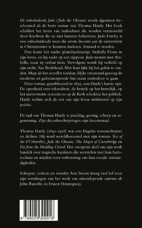 Thomas Hardy,De onbeduidende Jude