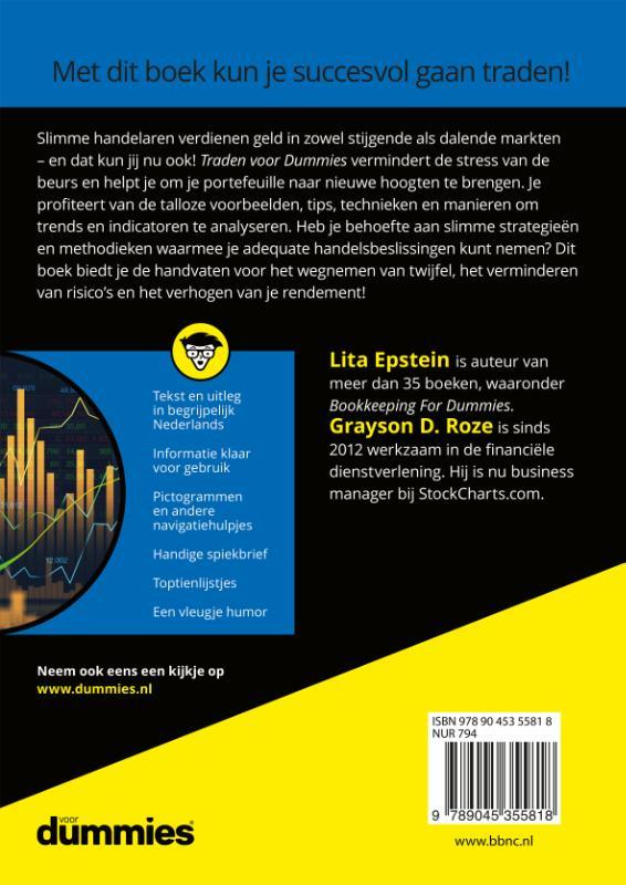 Lita Epstein, Grayson D. Roze,Traden voor Dummies