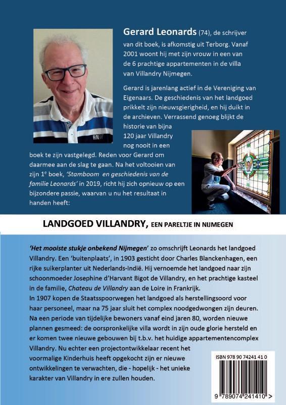 Gerard Leonards,Landgoed Villandry
