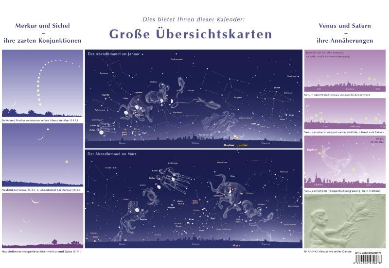 Liesbeth Bisterbosch,Sternen- und Planetenkalender 2021