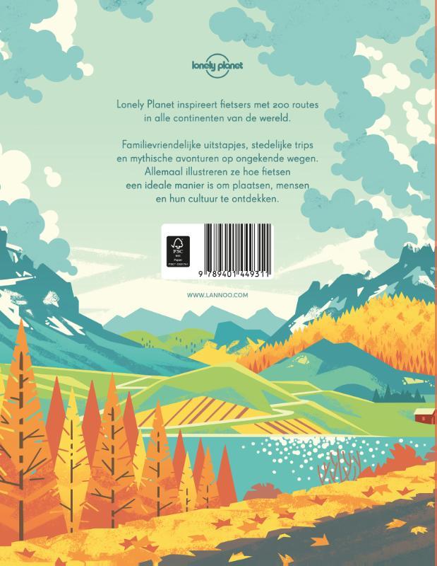 Lonely Planet,Mythische fietstochten in de wereld