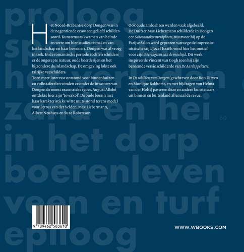 Ron Dirven, Helma van der Holst, Monique Rakhorst,De schilders van Dongen