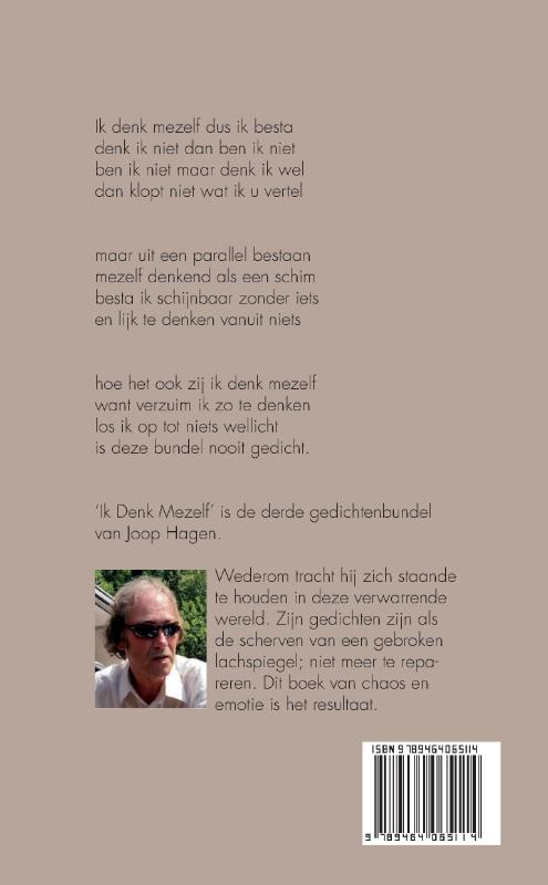 Joop Hagen,Ik Denk Mezelf