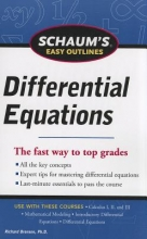 Bronson, Richard Schaum`s Easy Outlines Differential Equations