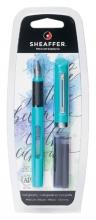 , Kalligrafiepen Sheaffer Viewpoint 1.3mm blauw in blister