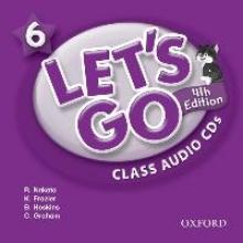 Let`s Go 6. 4th edition. Class Audio CDs