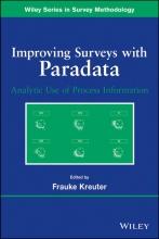 Kreuter, Frauke Improving Surveys with Paradata