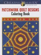 Carol Schmidt Creative Haven Patchwork Quilt Designs Coloring Book