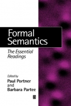 Paul H. Portner,   Barbara H. Partee Formal Semantics