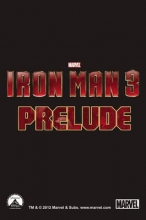 Pilgrim, Will,   Gage, Christos Iron Man 3: Prelude