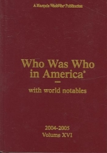 Marquis Who`s Who Who Was Who in America