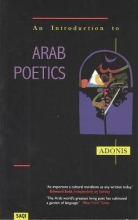 Adonis An Introduction to Arab Poetics