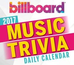 Billboard Music Trivia Daily Calendar 2017