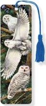 Snowy Owl 3-d Bookmark Lenticular