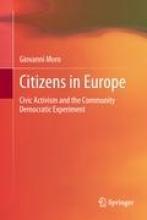 Giovanni Moro,Citizens in Europe