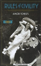 Towles, Amor Rules of Civility