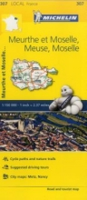 Meuse, Meurthe-et-Moselle, Moselle, - Michelin Local Map 307