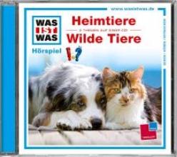 Baur, Manfred Was ist was Hrspiel-CD: HeimtiereWilde Tiere