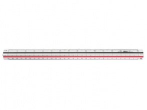 , Schaalstok M+R 1632 1:100/200/250/300/400/500