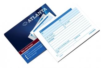 , Bonboekje Atlanta A6 50x2vel