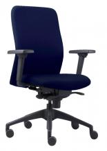 , Bureaustoel Euroseats Vigo blauw