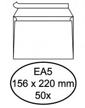 , Envelop Hermes bank EA5 156x220mm zelfklevend wit 50stuks