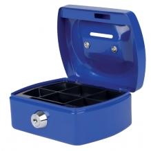 , Geldkist Pavo met gleuf 125x95x60mm blauw