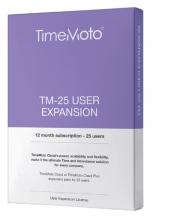 , TimeMoto TM-25 CLOUD user expansion