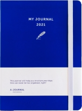 , My Journal Agenda 2021 - Indigo Blauw