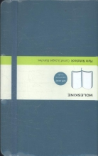 Moleskine Classic Colored Notebook, Large, Plain, Underwater Blue